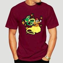 Men tshirt Short sleeve super dragon mario cool O neck Women t-shirt 0394D
