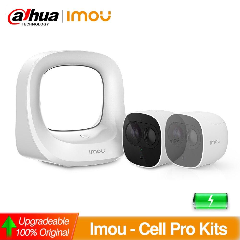 Dahua IMOU IP Camera 1080P HD Wifi Camera with Battery Surveillance CCTV Wireless Kits In/Outdoor Weatherproof PIR Detect