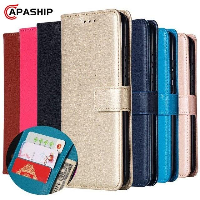 Flip Leather Wallet Case for Huawei P7 P8 Lite 2017 P9 P10 P20 P30 P40 Pro Honor 8 9 10 Lite P Smart 2019 Cover P30Pro Phone Bag