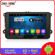 Gps-Player Car-Radio Polo/tiguan 2-Din android 1-Din Volkswagen/golf