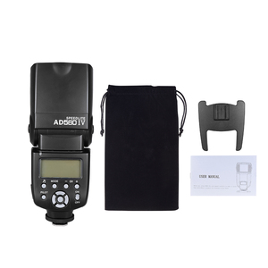 Image 5 - Andoer AD560 IV 2.4G Wireless On camera Slave Flash Speedlite for Canon Nikon Olympus Pentax Sony A7 A7 II A7S A7R A7S II