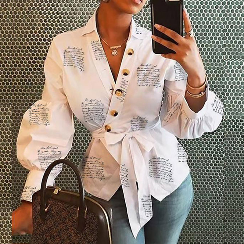 Pineapple Blouse Women's Shirt Ananas White Long Sleeve Blouses Woman 19 Womens Tops and Blouse Elegant Top Female Autumn New 2