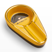 Charuto gadgets cerâmica cinzeiro único titular do charuto mini portátil cinza slot bandeja cigarro cinzeiro caixa de presente para cohiba