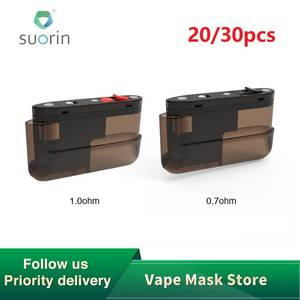 Suorin Cartridge Vape Air/drag-Nano Pod New for Air-Plus-Pod-Kit Vs 20/30pcs