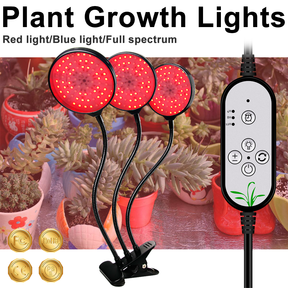 LED Plant Growing Lamps LED Grow Light USB 5V Full Spectrum LED For LED Plant Indoor Vegetable Flower Seedling Grow Tent Box