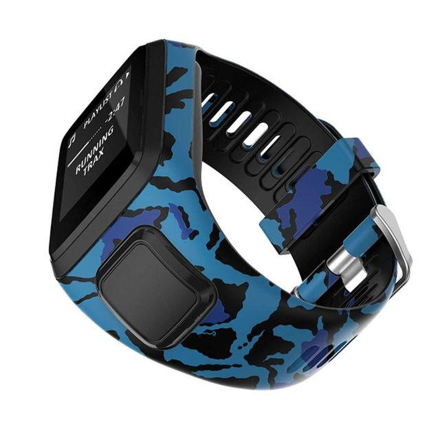 عالية الجودة سيليكون استبدال ساعة معصم حزام الفرقة ل TomTom عداء 2 3 شرارة 3 GPS الرياضة ساعة ل توم توم 2 3 سلسلة