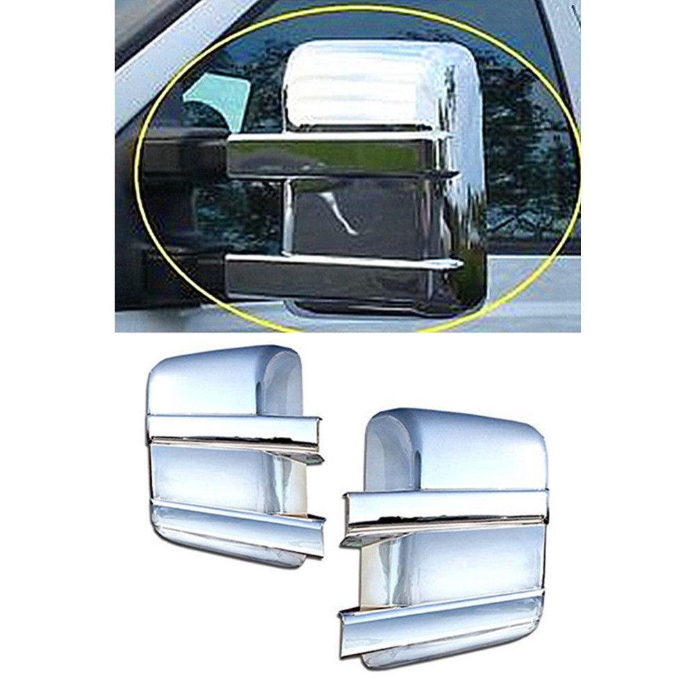 New Set of 2 LH /& RH Mirrors w// Amber Signal for Ford Super Duty 2008-2016 Pair