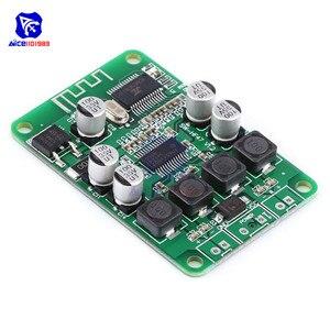 Diymore TPA3110 2X15W Беспроводная Плата усилителя мощности Bluetooth, двухканальный модуль усилителя для динамика 4/6/8/10 Ом DC 10-25 в