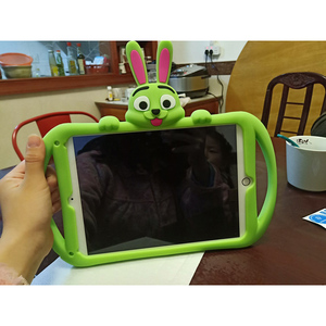 Image 4 - Silicone Case for Xiaomi Mi Pad 4 plus 10.1 Soft Cute Stand Kids Tablet Cover for Xiaomi Mipad 4 Case Mi Pad4 8 inch