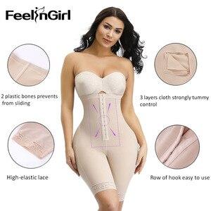 Image 4 - FeelinGirl נשים מותניים מאמן מחוך התחת מרים בטן בקרת תחתוני הרזיה גבוהה מותן בקרת תחתונים