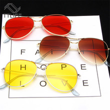 TTLIFE Oversized large Pilot women Sunglasses Shades Retro Classic Silver Sun Glasses Female Male Luxury Brand Designer YJHH0310