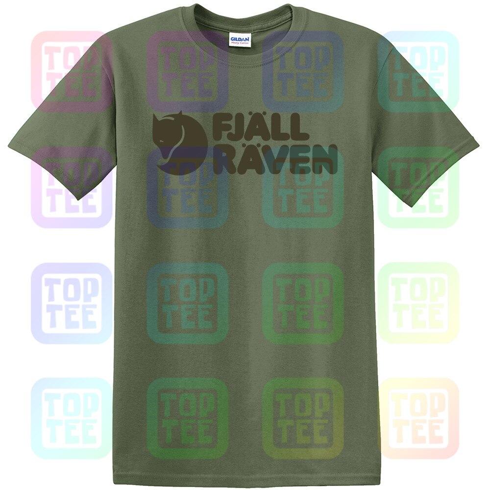 Fjall - Men'S Logo Raven T-Shirt Unisex Size S-3XL