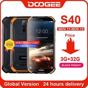 Image 1 - DOOGEE S40 4g 네트워크 견고한 휴대 전화 5.5 인치 디스플레이 4650mAh MT6739 쿼드 코어 3GB RAM 32GB ROM 안드로이드 9.0 8.0MP IP68/IP69K