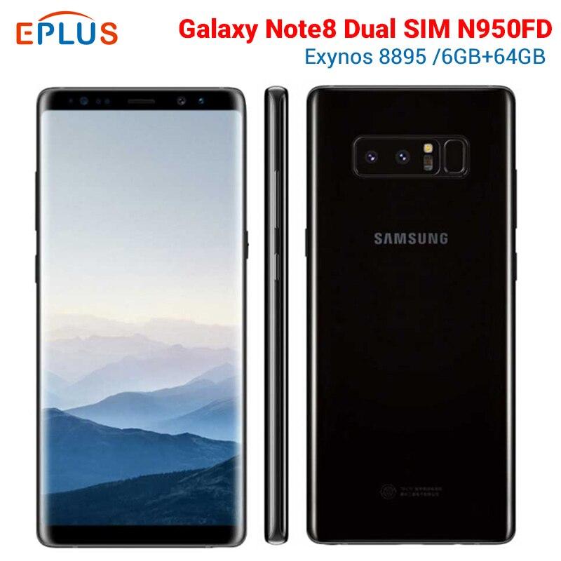 Versión Global 6GB 64GB Samsung Galaxy Note8 Nota 8 Duos N950FD teléfono móvil con doble SIM 4G 6,3 pulgadas 12MP NFC nuevo teléfono Original Original versión Global Lenovo Z5s 6GB 64GB Snapdragon 710 Octa Core Smartphone 6,3 pulgadas AI Triple cámara trasera Android P Face ID