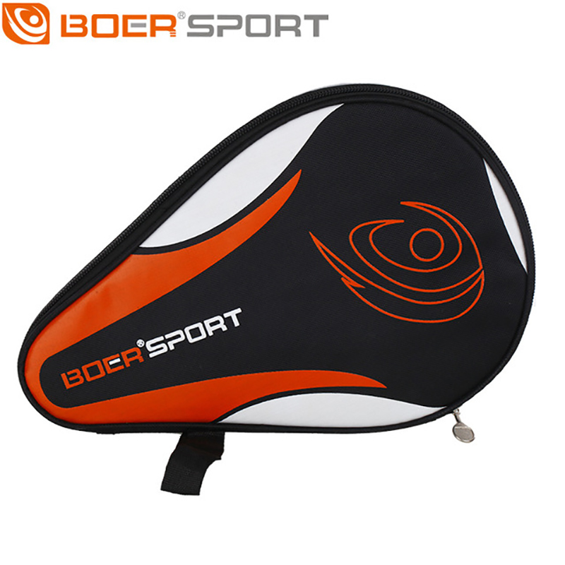 Professional New Table Tennis Rackets Bat Bag Oxford Ping Pong Case Waterproof  Full Protection 2 Color
