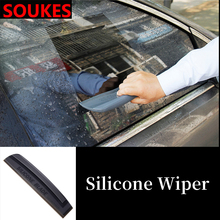Car Rear Front Windshield Wash Brush Cleaner For Peugeot 206 307 407 308 208 3008 Toyota Corolla Yaris Rav4 Avensis Mini Cooper