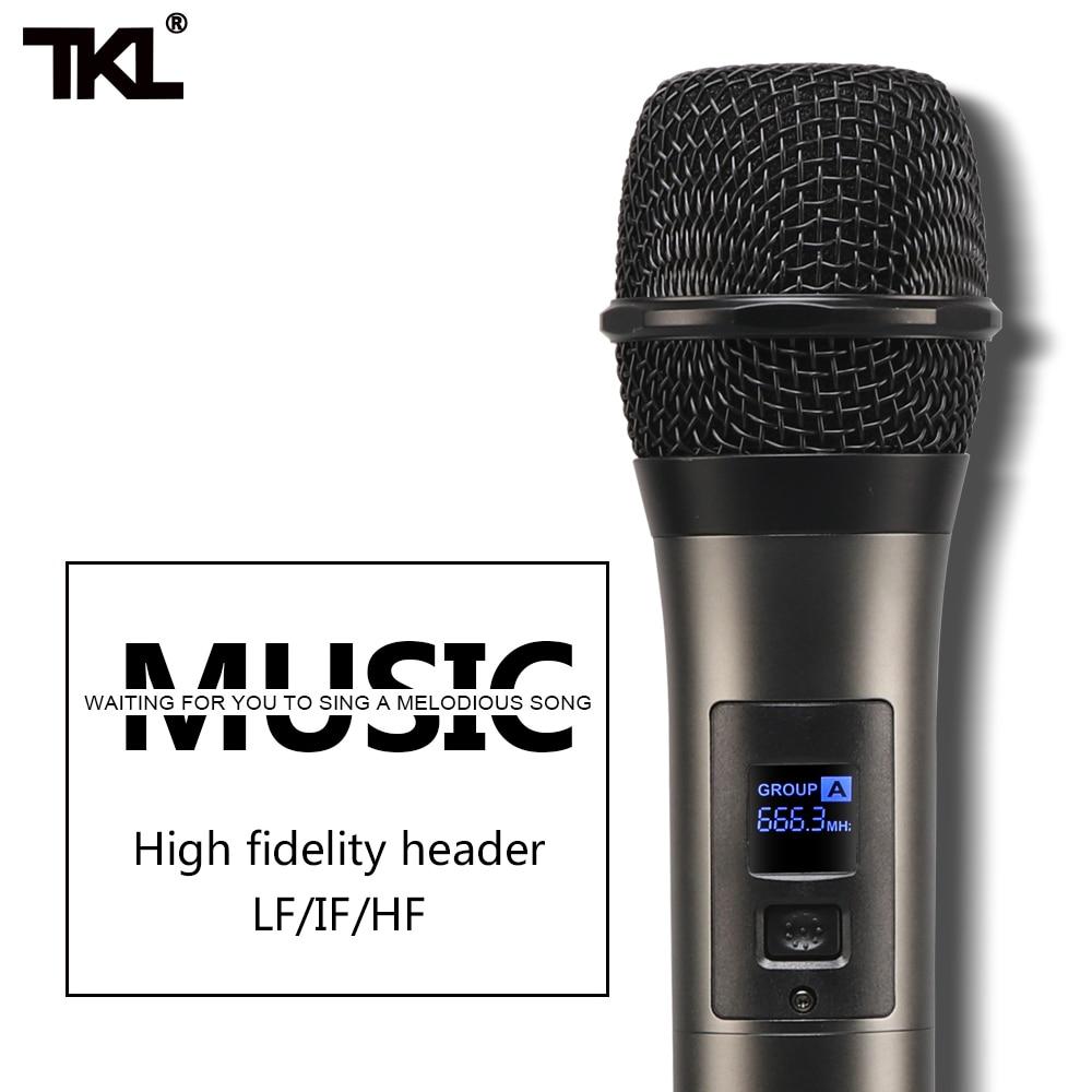 Image 4 - TKL 6 Channel Audio Mixers with 300Wx2 Power Amplifier Wireless Microphone Effector REC Sound Mixing MP3 Bluetooth DJ mixerDJ Equipment   -