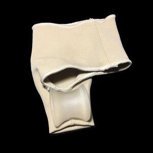 Image 5 - 1 זוג גדול הבוהן בוהן Valgus מתקן מדרסי רגליים טיפול עצם אגודל שמאי תיקון פדיקור גרבי פיקה מחליק