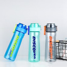 Creative sports plastic cup portable water outdoor hand Environmentally friendly material