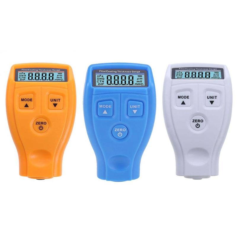 GM200 Coating Painting Thickness Gauge Tester Ferrous Metal Lacquer Film Thickness Gauge Meter