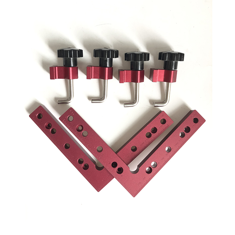 6pcs set 120 140 160mm 90     L-shaped Auxiliary Fixture Positioning Panel Fixing Clip Woodworking Clamping Tool High Quality