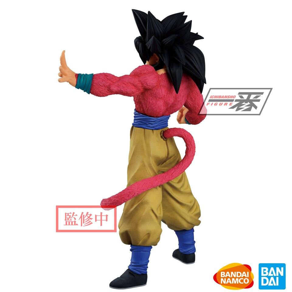 Image 2 - Tronzo оригинальный Banpresto Dragon Ball GT Greatest Saiyan Goku  SSJ4 ПВХ фигурка модель игрушки Супер Saiyan Goku фигурки  подарокИгровые фигурки и трансформеры
