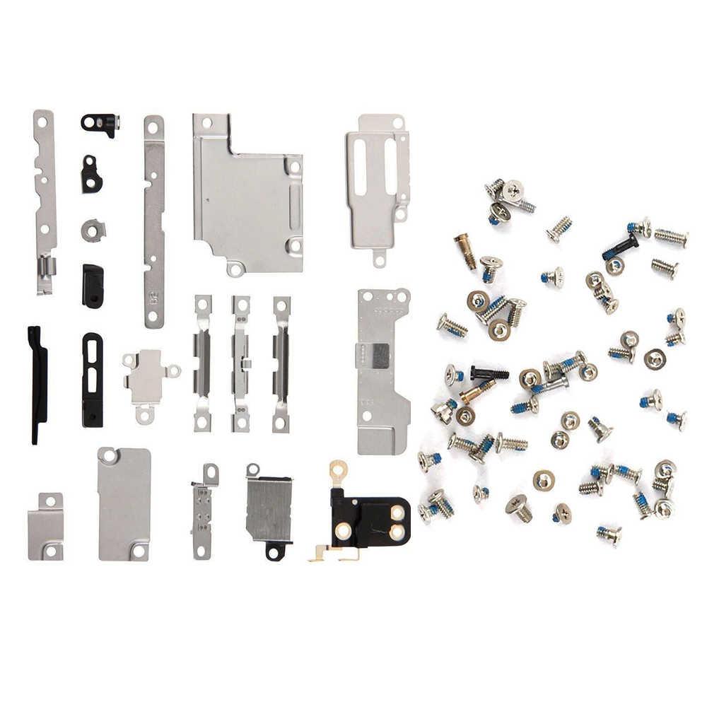 2 Buah/Set untuk iPhone 6 6 S 6 P 6 S PLUS Logam Pemegang Bracket Pengikat Pad Spacer + Penuh sekrup