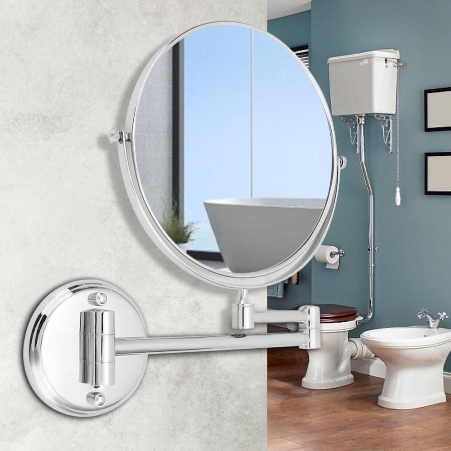 Telescopic Vanity Mirror Household
