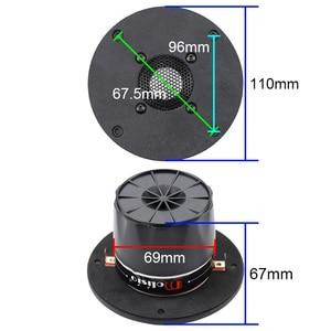 Image 3 - 4 Inch 110mm Tweeter Ceramic Diaphragm Audience grade 25 Core Tweeter Hifi Speakers Audio Accessories 6.2ohm 94db 1pcs