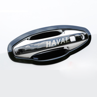 Lsrtw2017 Stainless Steel Car Outside Door Bowl Frame Door Handle Trims for Haval F7 F7x Interior Accessories