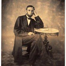 El presidente Abraham Lincoln nos foto Alexander Gardner Vintage Retro lienzo de pintura, marco de Poster pared DIY pósteres casa hogar Decoración regalo