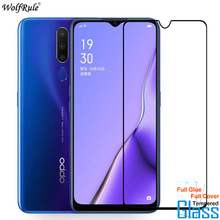 Protective Glass For OPPO A9 2020 Screen Protector Full Glue Cover Tempered Glass For OPPO A5 2020 Glass A11X Phone Film tempered glass for oppo a3 a3s a5 a71 a83 explosion proof screen protector for oppo f9 r17 glass