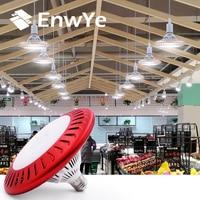 EnwYe E27 100W alto brillo 10000Lm ventilador de refrigeración LED Bombilla 220V para aparcamiento interior Led de minería supermercado Luz