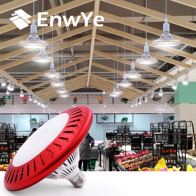 EnwYe E27 100W High Brightness 10000Lm Fan Cooling LED Bulb Lamp 220V For Indoor Parking Led Mining Supermarket Light