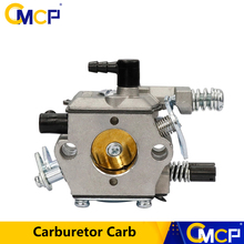 Carburador de motosierra de gasolina, carburador de desbrozadora compatible con KOMATSU 4500 5200 5800 45cc 52cc 58cc, piezas de repuesto de motosierra