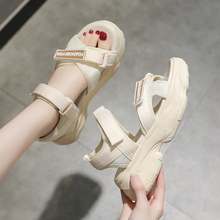 sandals shoes women sports outdoor sandals female sport girls hook and loop platform platform  sneakers