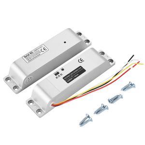 Image 1 - DC12V 1000KG חשמלי זרוק דלת מנעול מגנטי אינדוקציה שער הגישה כניסת בקרת שער נעילת 0s/3s/6s עיכוב פונקציה