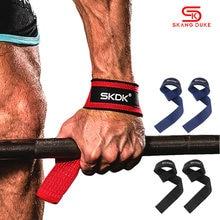 Palestra Fitness sollevamento pesi manopole fasce Sport manubri allenamento supporto polso cinghie a nastro bilanciere Pull Up