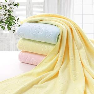 70x140cm Microfiber Bear Soft Water Absorbent Shower Bath Beach Towel Blanket Eco-friendly Embroidered Soft Bath Towel