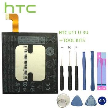HTC Original Battery B2PZC100 3000mAh Battery for HTC U11 U-3U Batteries+Tools +Stickers