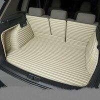 Toyota Yaris Highlander Prius Vios Venza 용 완전 방수 부츠 카펫 미끄럼 방지 내구성 맞춤형 특수 자동차 트렁크 매트