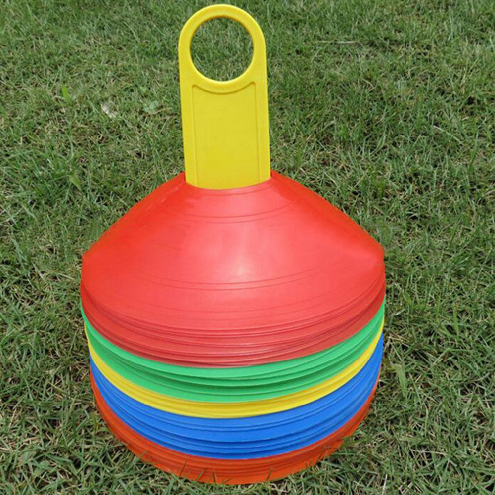 1pc/set High Quality Soccer Training Sign Dish Pressure Resistant Cones  EP Disc Cone Sports Accessories
