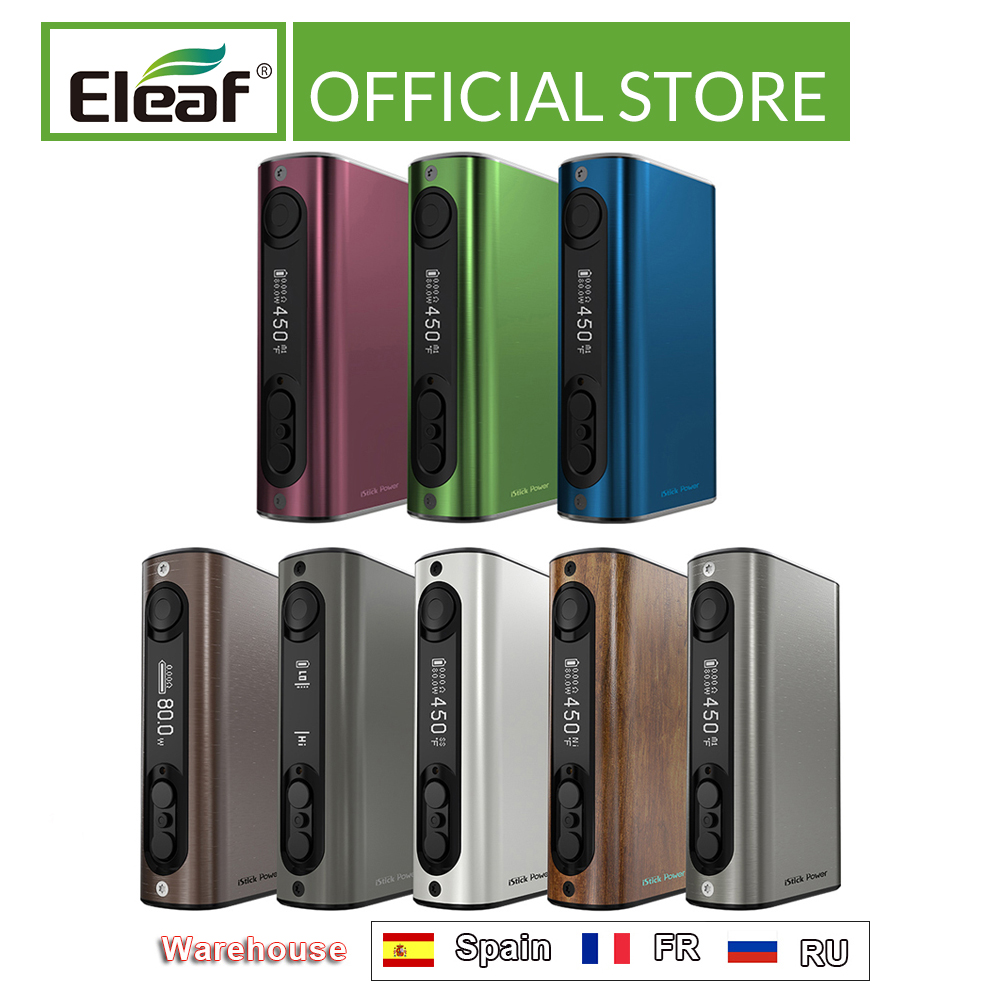 Clearance Original Eleaf IStick Power Box Mod Ipower 80w 5000mAh Battery VW/Smart/TC Mode Electronic Cigarette Vape Mod