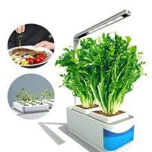 Diodo emissor de luz hidropônico planta crescimento luz para interior erva jardinagem plantador AC100-240V phytolamp lâmpada led crescer planta iluminação
