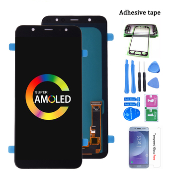 Original Super Amoled For Samsung Galaxy A6 Plus 2018 A605 A605fd LCD Display Touch Screen Digitizer Assembly A6+ lcd