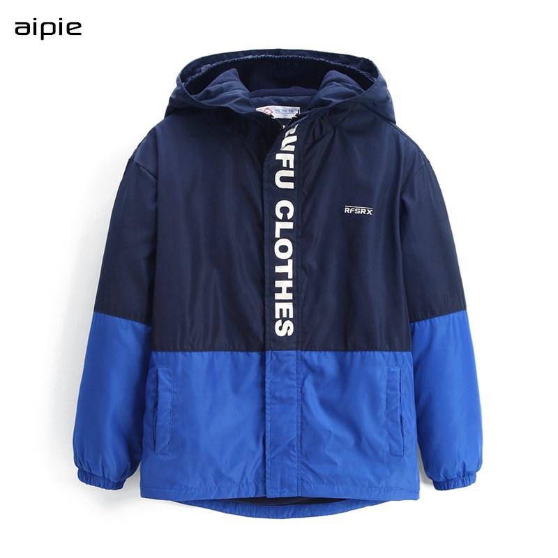 Детские куртки с флисовой подкладкой, Лоскутные пальто с капюшоном для мальчиков и девочек, верхняя одежда для детей, одежда для детей, на возраст от 2 до 8 лет|Куртки и пальто| | АлиЭкспресс