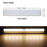 10 LED Blanc chaud