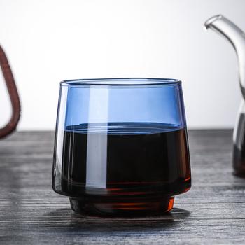 Kolorowy kubek do kawy wysokiej jakości szkło borokrzemowe kubek do kawy herbata sok mleko kubki do wody trwałe Caneca Tazas odporny na ciepło kubek tanie i dobre opinie CN (pochodzenie) kubki do kawy Europejska Bez elementów Uchwyt Mugs Ekologiczne