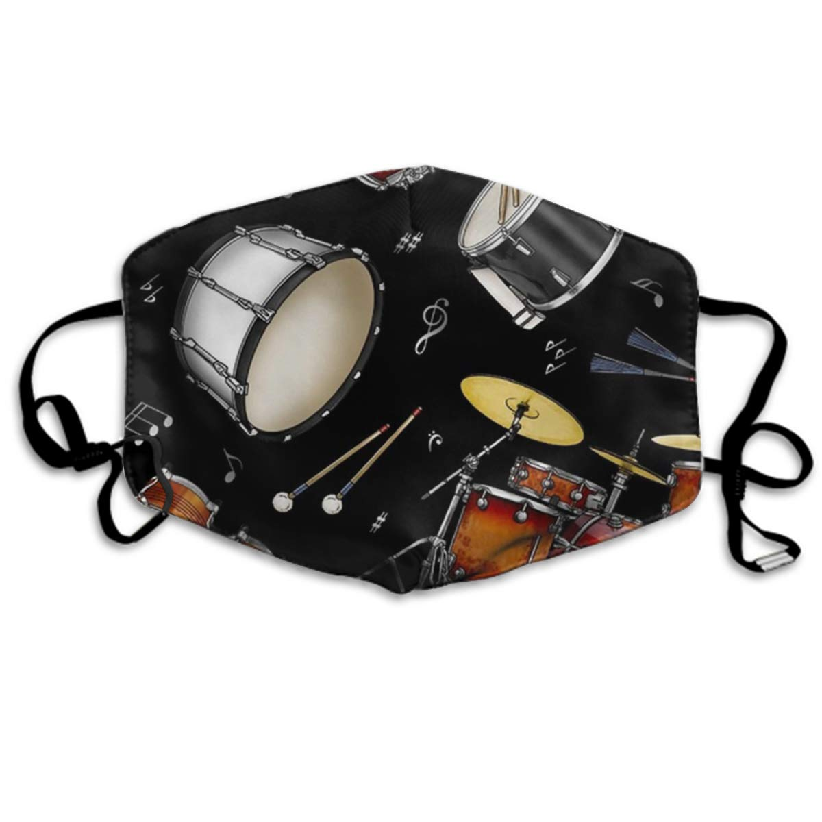 Winter Norse Warmer, Comfortable Two Layer Rock Drum Stand Anti Dust Face Mask Cover Mouth For Adults And Teens