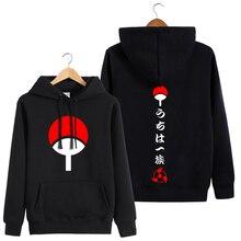 Hooded Sweatshirt Oversized Jacket Anime Clothes Manga Uchiha-Sasuke Long-Sleeves Autumn